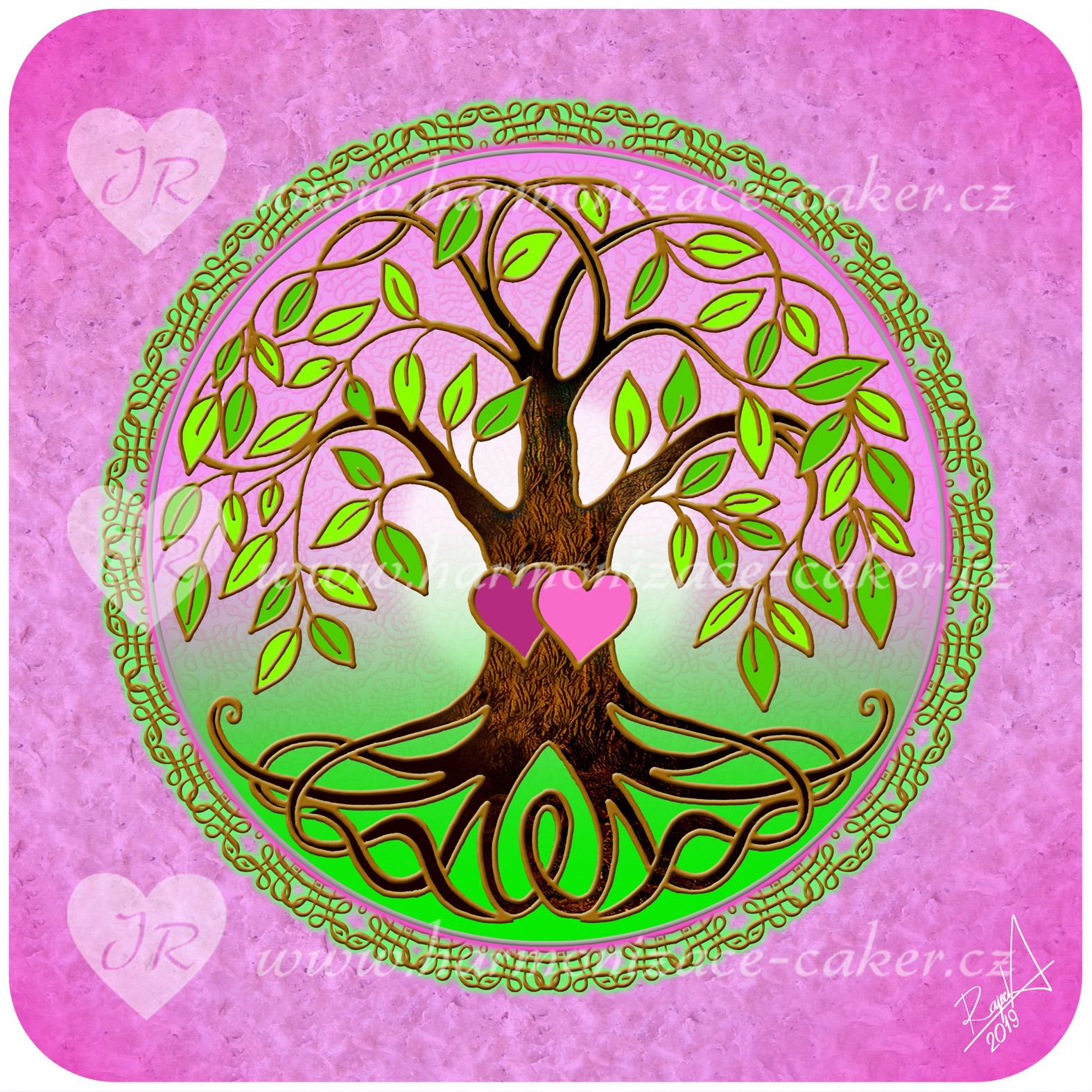 strom_zivota_ruzova_zelena01_zlata